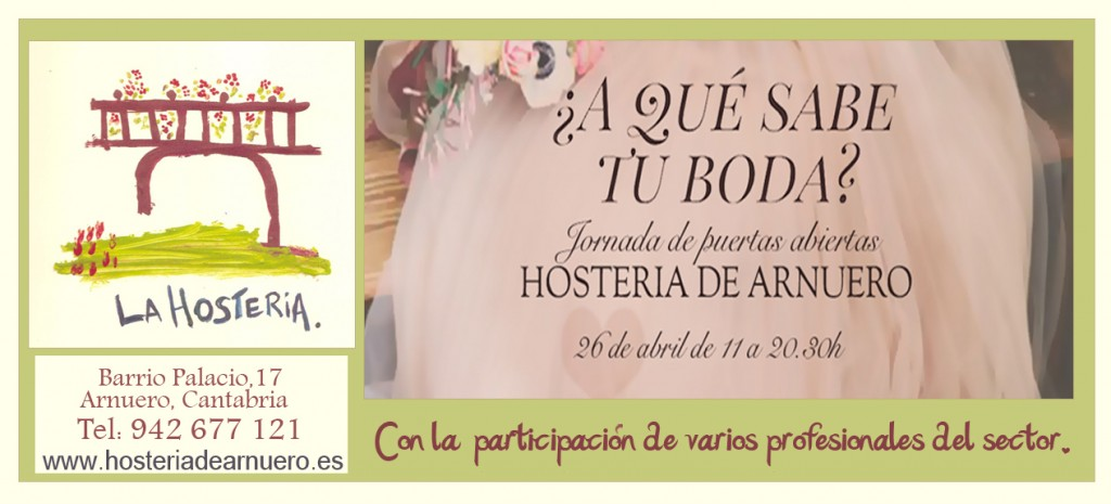 Evento para diseñar una boda en Cantabria, Hostería de Arnuero.