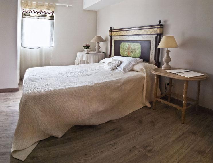 Hotel rural en Cantabría, Hostería de Arnuero. Habitación doble.