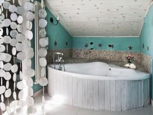 Hotel rural en Cantabria, Hostería de Arnuero. Habitación Jacuzzi.