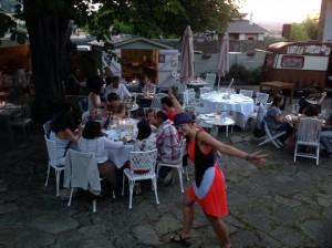 The Funes Troup en la Hostería de Arnuero, Cantabria