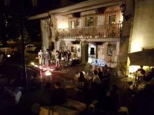Concierto de Cosmosoul en la Hostería de Arnuero, verano 2016